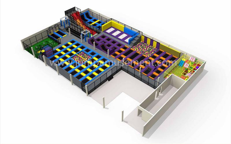 professional factory for Commercial Trampoline Park Indoor - JP-TP11 – Jump Amusment