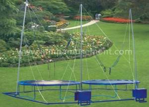 Free sample for Trampoline Safety Net - double seats bungee jumping for 2 person  JP-BJ04 – Jump Amusment