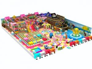 commercial safety kids games indoor playground equipment JP-IP41