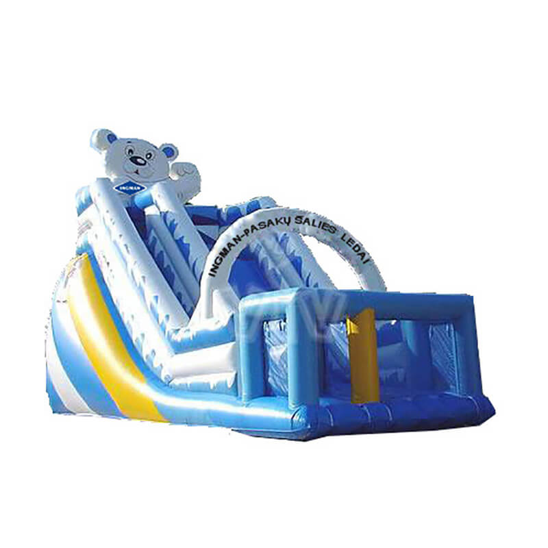OEM Customized Inflatable Bouncer Fun City - Inflatable Slide – Jump Amusment