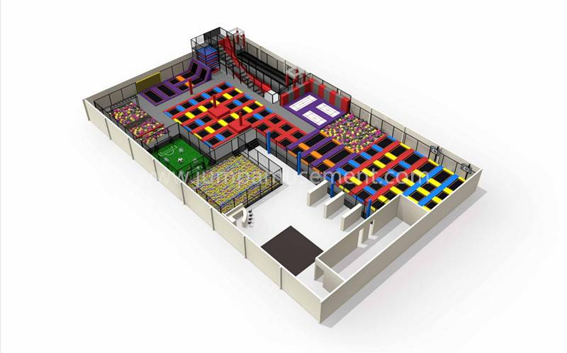 High Quality Gymnastics Trampoline Park - JP-TP08 – Jump Amusment Featured Image