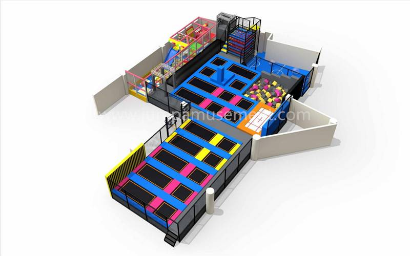 Good quality Friendly Indoor Trampoline Park - JP-TP06 – Jump Amusment