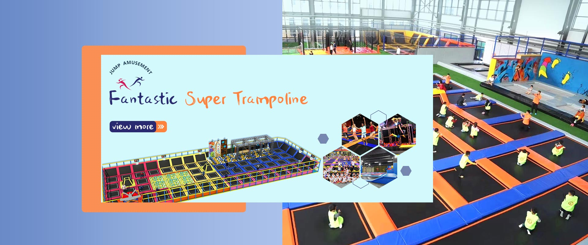 Fantastic Super trampolin