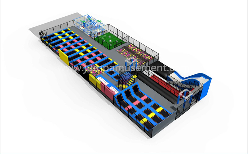 Leading Manufacturer for Children Indoor Trampoline Park - JP-TP48 – Jump Amusment