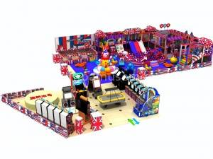 colorful big children indoor playground JP-IP57