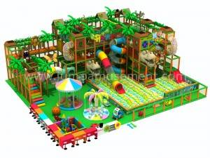 Custom Kid Soft Entertaining Indoor Playground With CE Certificates JP-IP59