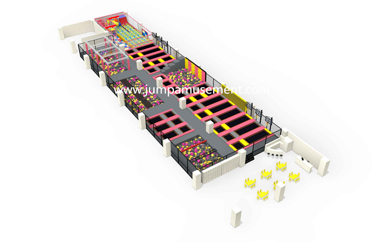 Renewable Design for Colorful Trampoline - JP-TP52 – Jump Amusment