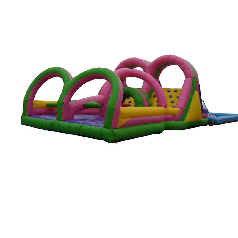 Factory supplied Children Inflatable Slide - Inflatable Obstacle – Jump Amusment