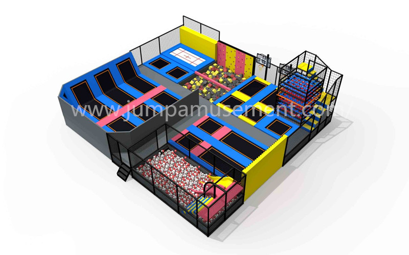Hot New Products Commercial Trampoline Park - JP-TP40 – Jump Amusment