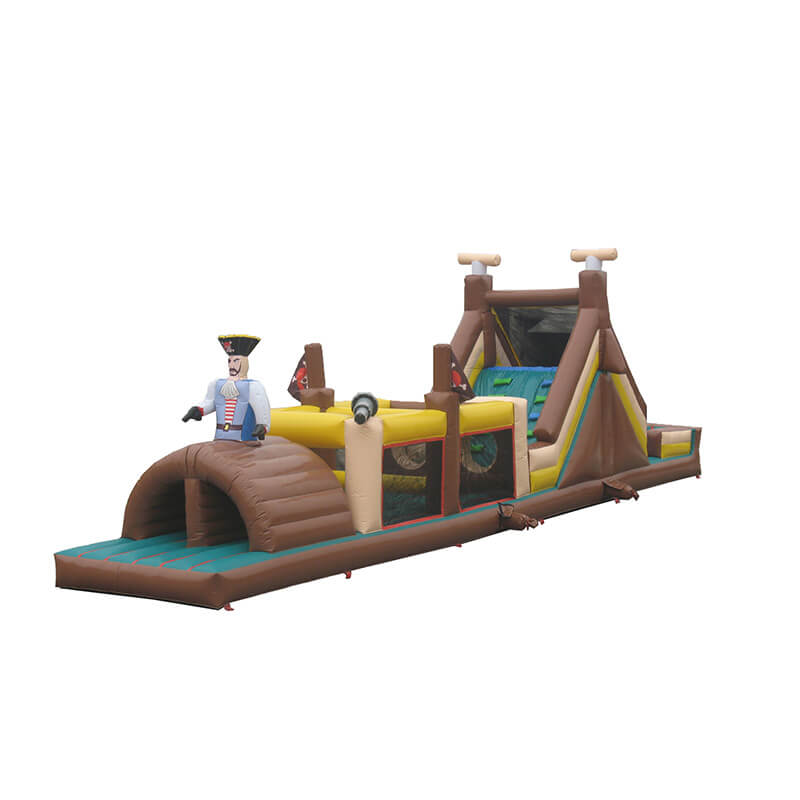 2019 Latest Design Inflatable Slide The City - Inflatable Obstacle – Jump Amusment