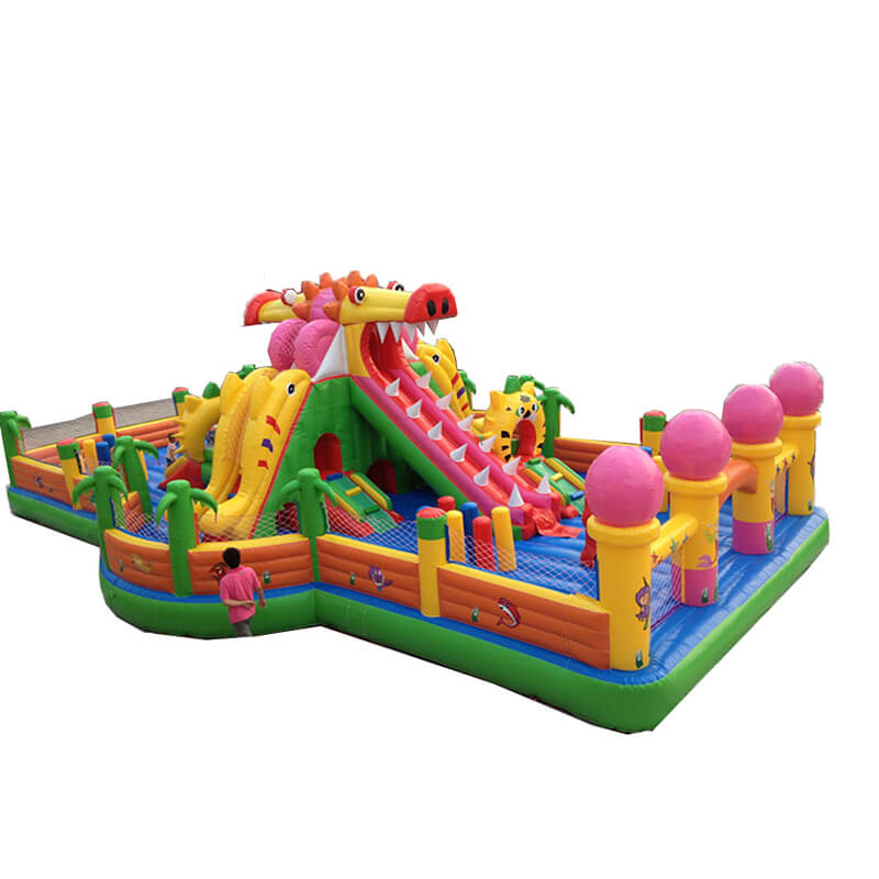 Fast delivery Inflatable Obstacle Coursee - Inflatable Fun City – Jump Amusment