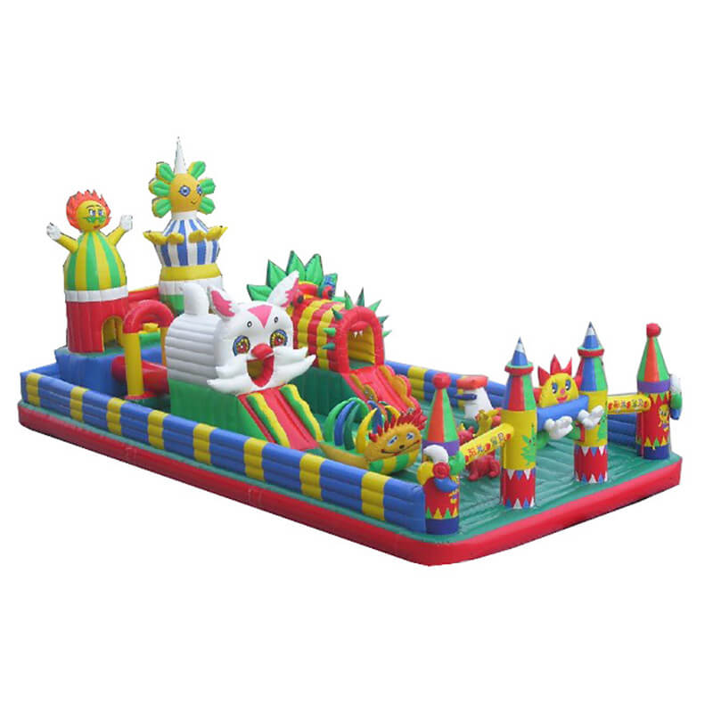 Reasonable price for Inflatable Commercial Slide - Inflatable Fun City – Jump Amusment