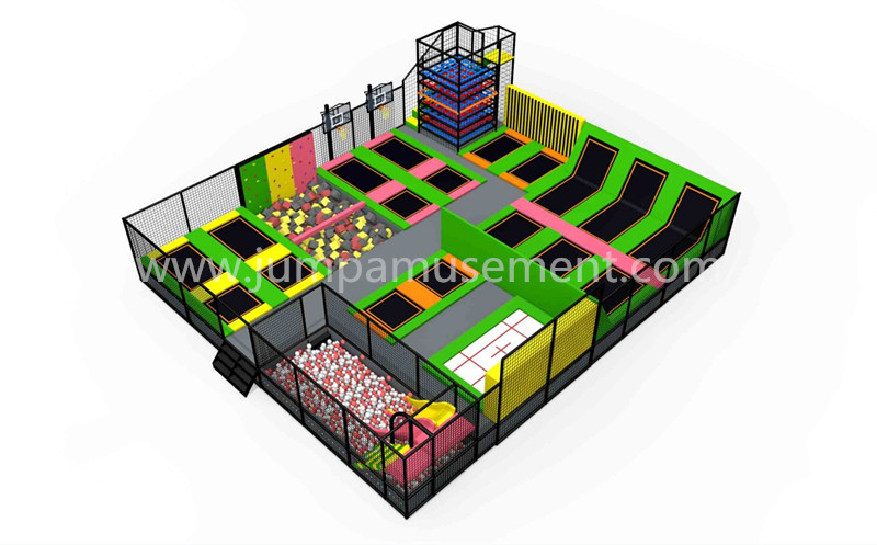 Reliable Supplier Jumping Fitness Trampoline - JP-TP45 – Jump Amusment