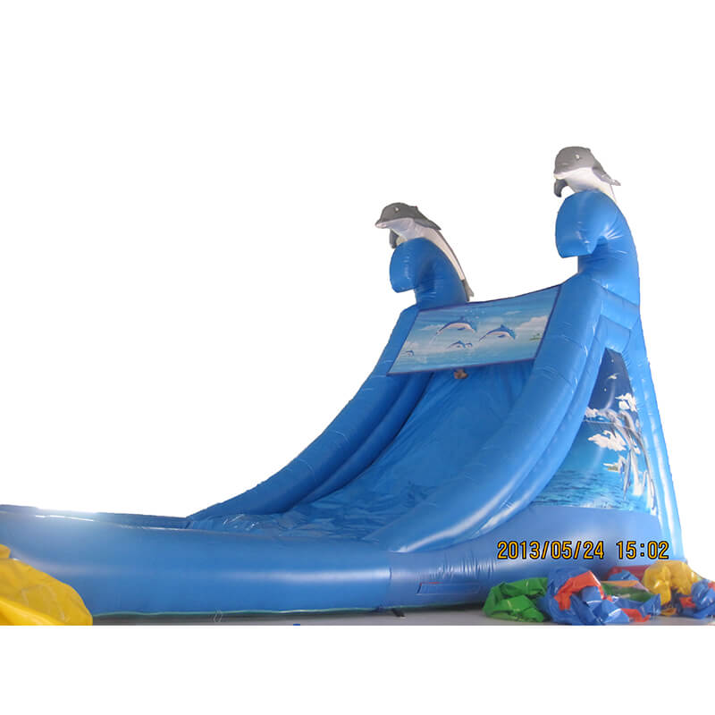 Big Discount Floating Inflatable Water Slide - Inflatable Water Slide – Jump Amusment
