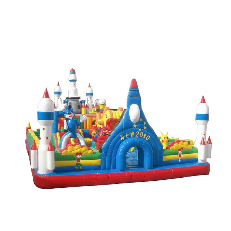 Factory made hot-sale Yacht Inflatable Water Slide - Inflatable Fun City – Jump Amusment Featured Image