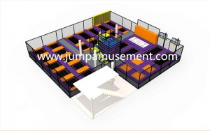 China Supplier Indoor Trampoline Bed For Sale - JP-TP50 – Jump Amusment