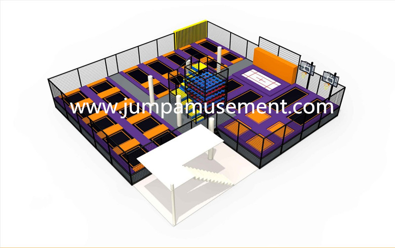 18 Years Factory Trampoline Handrail - JP-TP50 – Jump Amusment Featured Image