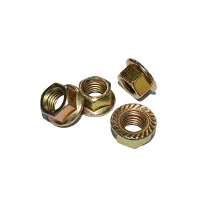 Hexagon Flange Nuts–DIN6923