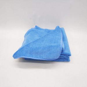 Microfiber high quality warp towel for car washing household cleaning