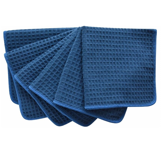 450gsm Microfiber Anti-slip Super Soft Hign Absorbent Quick Dry waffle weave drying towel microfiber Featured Image