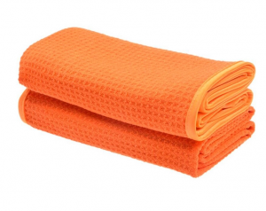 450gsm Microfiber Anti-slip Super Soft Hign Absorbent Quick Dry waffle weave drying towel microfiber
