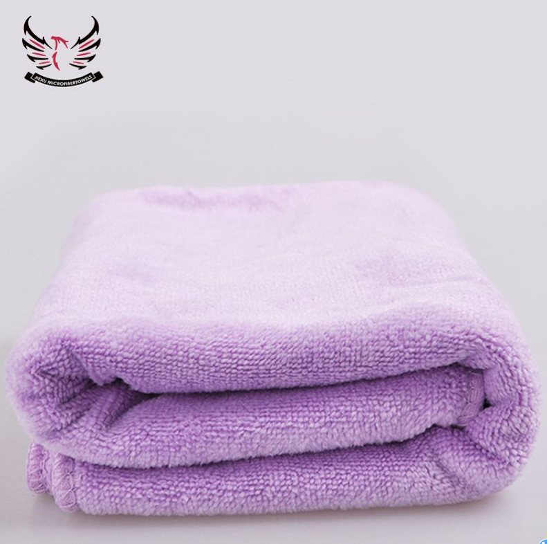 quick dry light weight blue microfiber towel for bath microfiber brushed towels Featured Image