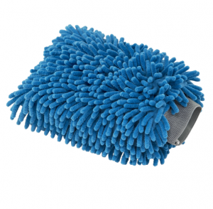 Auto detailing chenille wash mitt for car cleaning