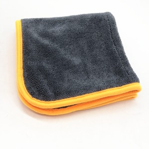 Washing Cloths Microfiber Car Drying Towel Twisted Loop Piles Twisted Towel