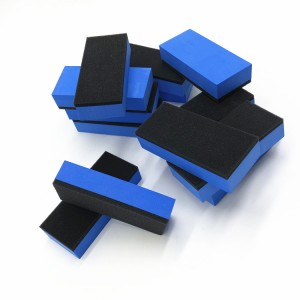 Double Side Automobile Car Detailing Coating Applicator Sponge Pad