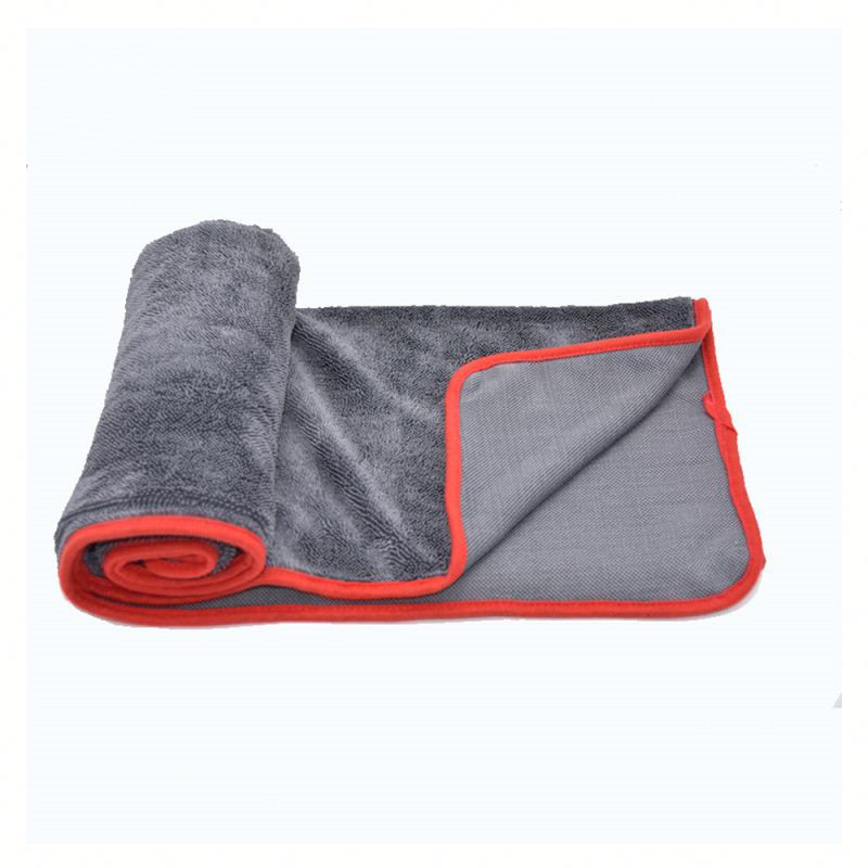 High quality microfiber drying towel for auto deatiling care Featured Image