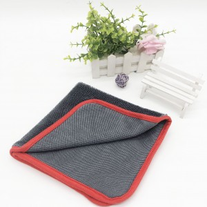 High quality microfiber drying towel for auto deatiling care