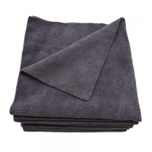 Edgeless microfiber car cleaning towels