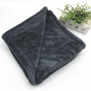 Microfiber Double Layers Twist Drying Towel