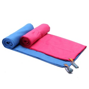 100% Microfiber suede towel for sport towel drying towel
