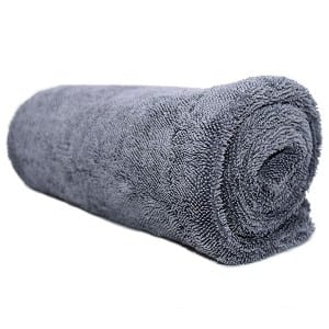 Dual Twisted Loop Drying Towel