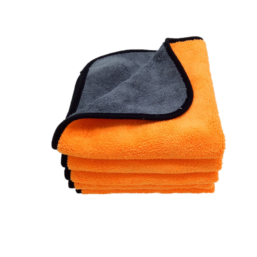 Car Buffing Microfiber Towel Car Body Washing Coral Fleece Plush Piles Cloth Featured Image