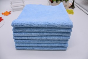 Edgeless Microfiber terry towels