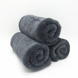 Size 40*40cm Double Twisted Towel Car Drying Cloth
