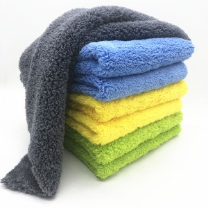 China factory direct sale microfiber coating towels 16″x16″ for auto detialing