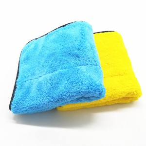 800 GSM All Purpose Auto Detailing Polishing Cloth Microfiber Car Buffing Plush Towel