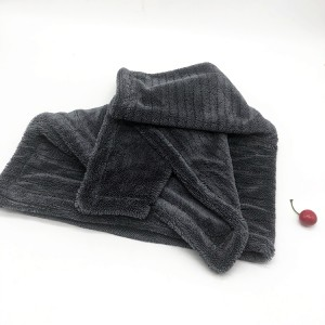 New Designed Seamless Double Twisted Loop Towel Microfiber Drying Cloth