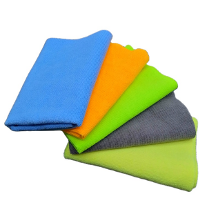 Microfiber Car Cleaning Rag Warp Knitted Terry Towel All Purpose Using Cloth