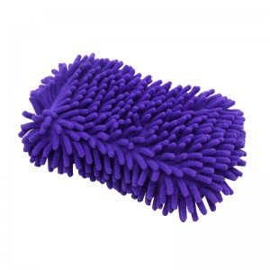 Automobile Cleaning Chenille Sponge