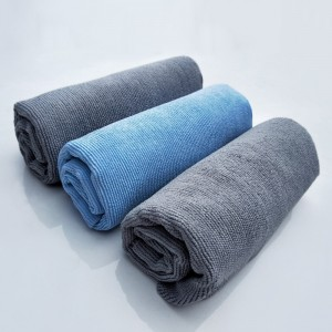 2020 Hot sale 400GSM car glass edgeless towel