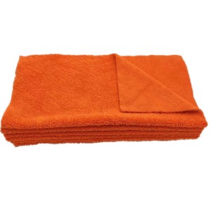edgeless microfiber long/short pile towel