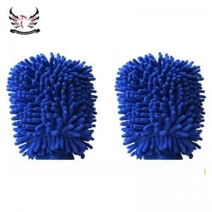Chenille Wash car mitts