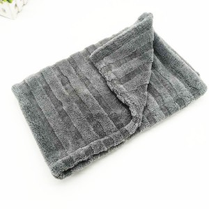hybrid twisted drying towels, new design microfiber drying towel