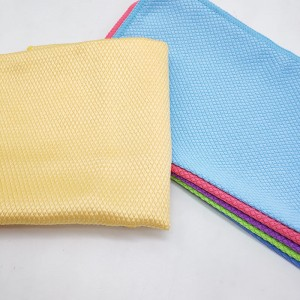 Microfiber Cleaning Cloth Kitchen Dish Cloths Glass Cleaning Tools Washcloth