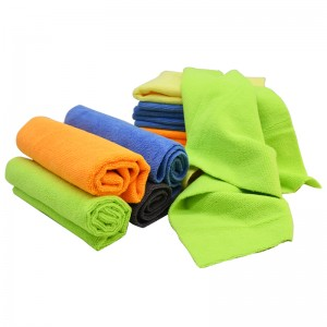 edgeless all purpose microfiber towel