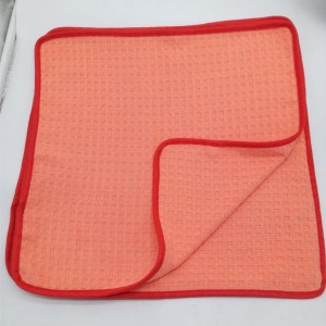 New Fashion Design for Makeup Remover Cloth - microfiber waffle weave towel – Jiexu